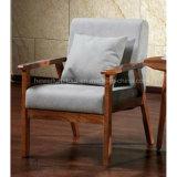 Sofá moderno da sala de estar do frame da madeira contínua da sala de visitas (HW-2130S)