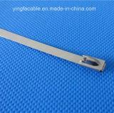 304 316 Kugel-Verschluss-Edelstahl-Kabelbinder