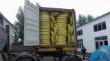 La plus grande usine de boyau dans le boyau en caoutchouc à haute pression tressé de fil d'acier de bonne qualité de la Chine