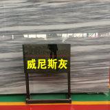 De opgepoetste Grijze Marmeren Tegel van de Plak Venica voor Muur