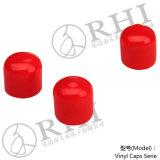 أحمر [بفك] غطاء [10مّ] [إند كب] بلاستيكيّة لأنّ أنابيب