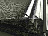 MEDIADOS DE acoplamiento de la pantalla de alambre de acero de carbón con el gancho de leva para la trituradora