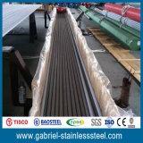 Dimensiones inoxidables del tubo de acero de 2 pulgadas 201 del tubo de los Ss
