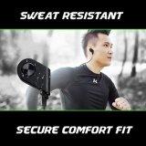 Ruido sin hilos de los auriculares V4.1 de Bluetooth que cancela el receptor de cabeza del deporte de Sweatproof