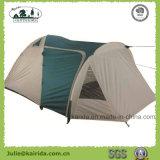Person 4 2 Schicht-kampierendes Zelt mit einem Wohnzimmer