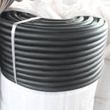 Mangueira de ar de borracha trançada de alta elasticidade da fibra de poliéster