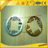 Profili di alluminio trattati personalizzati dell'espulsione di CNC con le parti di alluminio