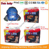 Couche-culotte remplaçable de bébé de vente d'absorption élevée chaude de prix usine