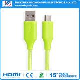 Kabel van het Type C van Tussenvoegsel USB3.1 van Suport de Positieve Negatieve