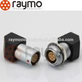 5 pin conector B Serie EXG codo zócalo de 90 grados para placas de Circut con dos tuercas