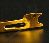 공구를 매는 최고 금과 짜개진 조각 제물 낚시 매 빠른 매듭