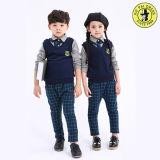 Рубашки и кальсоны свитера 3 частей для детей школьных форм