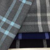 De Stof van de Wol van de Controle van vier Kleuren voor Overjas