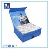 Caja de embalaje de papel plegable con EVA y inserto de tela