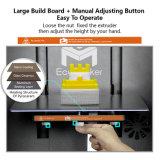 Nuevo diseño semi-automática de la impresora 3D 1,75 mm PLA / ABS de la impresora Impresión de filamentos 3D de la máquina digital