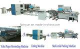 Petite ligne automatique prix de production à la machine de fabrication de papier de rouleau de papier hygiénique