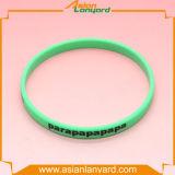 Wristband impermeabile personalizzato del silicone