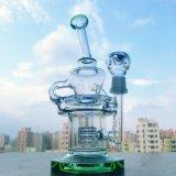 Tubo di acqua di vetro di Gldg 12inch Recyclermatrix Perc