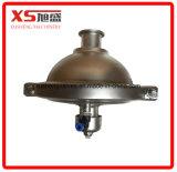 Válvula reguladora de pressão constante sanitária de aço inoxidável