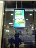 doppio comitato Digital Dislay dell'affissione a cristalli liquidi degli schermi 43inch che fa pubblicità al giocatore, visualizzazione dell'affissione a cristalli liquidi del contrassegno di Digitahi