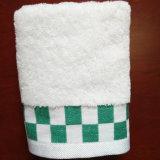 エジプト人の100%年の綿の明白な染められた表面タオル