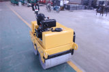 Walk-Behind Double Drums Road Roller