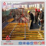 Q235 sistema del andamio del encofrado de la viga de la losa I para utilizar el concreto grueso
