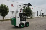 前部ローダーの農業機械の中国の小型スキッドの雄牛のローダー