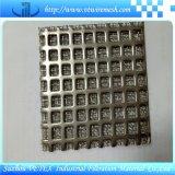 Maille agglomérée de filtre de treillis métallique