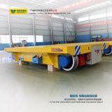 Carro de la transferencia del carril de las cargas pesadas con las ruedas especializadas del acero de la grúa