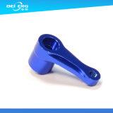 Kundenspezifische blaue anodisierte Aluminium 6061-T6 CNC-Fräsmaschine-Teile