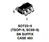 Circuito integrado Ncp1402sn50TIG del recorte regulador IC de la microfuerza