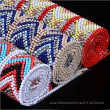 2017 la nuova plastica classica dell'annata del diamante della perla dell'azzurro 2.5mm della protezione borda la catena (TS-050)