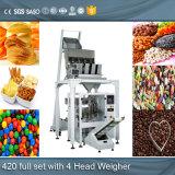 Nd-K420/520/720/820 de Automatische Verpakkende Machine van de Zak van de Snacks van de Cashewnoot