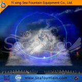 Тип сверстница комбинации нот мультимедиа фонтана с киноим экрана воды