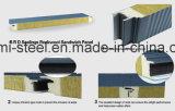 """Panneaux """"sandwich"""" isolés (PU) structuraux de toit/mur de Roche-Laines de cachetage de polyuréthane de matériau de construction"""