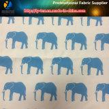 Il tessuto di stirata di modi del poliestere 4 con l'elefante ha stampato per la spiaggia ansima (YH2144)