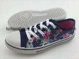 最新のデザイン子供のキャンバスの注入は卸しで蹄鉄を打つ、良質の偶然靴および最もよい価格(0923-01)