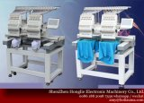 15 máquina principal do bordado do computador do controlador de tela do toque da agulha 2 para o bordado uniforme do t-shirt do vestuário