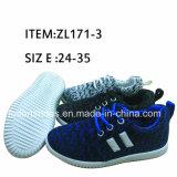 Самая новая впрыска способа 2017 обувает ботинки обуви детей вскользь (FFZL170225-02)