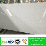 백색 Carrara 대리석 인공적인 석영 석판
