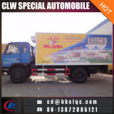 caminhão do transporte do gelado de Van Caminhão Congelador da loja fria da galinha 10t