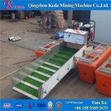 ディーゼル機関のボートを採鉱する携帯用川の金