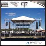 Elevación de aluminio al aire libre del braguero de la torre de iluminación de DJ de la etapa