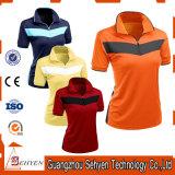 Fabrik-Frauen-Arbeitskleidungs-Polo-T-Shirts von Baumwolle