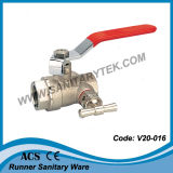 Шариковый клапан воды с дренажным клапаном (V20-016202)