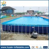 Raggruppamenti di acqua di plastica d'acciaio di nuoto del metallo del raggruppamento rettangolare gigante portatile del blocco per grafici