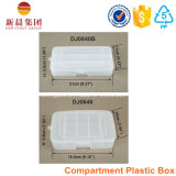 3平行コンパートメントプラスチックの箱