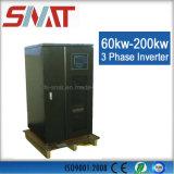 invertitore a tre fasi di potere di onda di seno di 220V/380V 60kw 80kw 100kw per il sistema energetico domestico