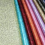 Bom couro material sintético da parte superior de sapata do plutônio do Fastness de cor